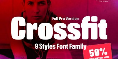 Crossfit Font Family Download 1