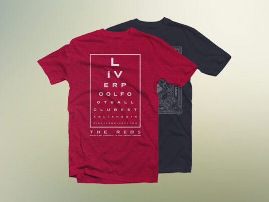 Free Download Double T-shirt Mockup PSD