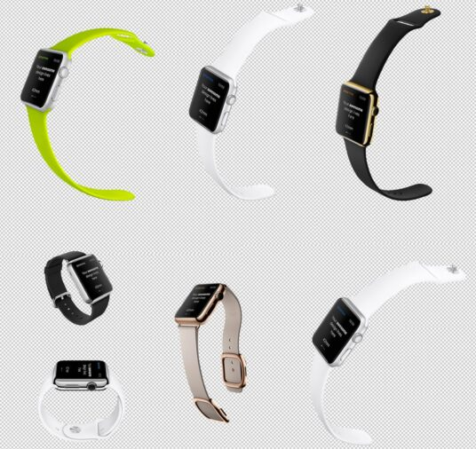 Free Download Various Apple Watch Mockup PSD