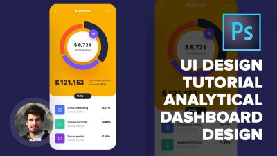 How to Design an App Dashboard in Photoshop 2020