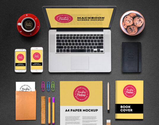 Free Download Complete Corporate Identity Branding Mockup PSD