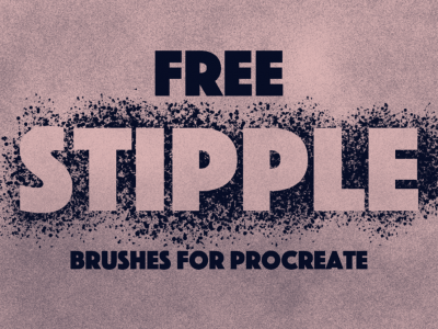 Free Download Stipple Procreate Brushes 1