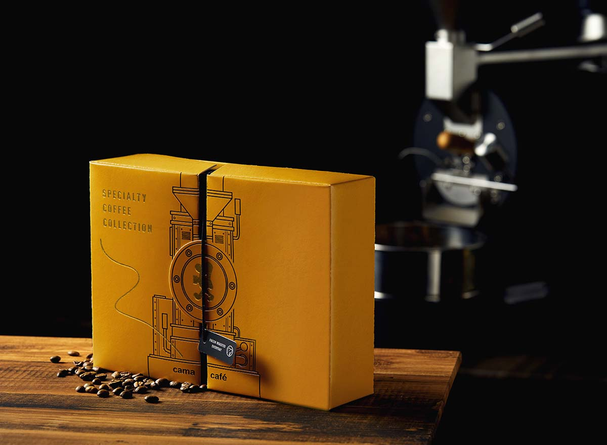 Cama Café Specialty Coffee Collection Packaging Design Inspiration
