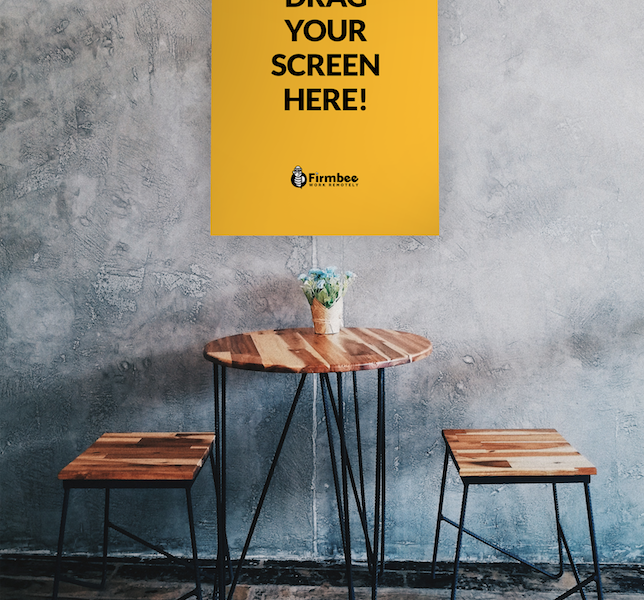 Free Downlad Industrial Style Poster Mockup PSD