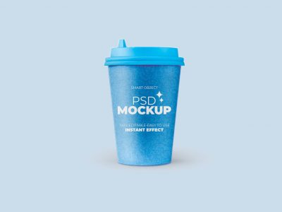 Free Download Coffee Cup Design Mockup PSD