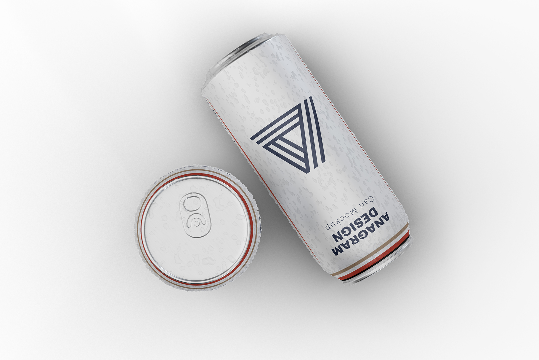 Free Download Drink Can Packaging Mockup PSD