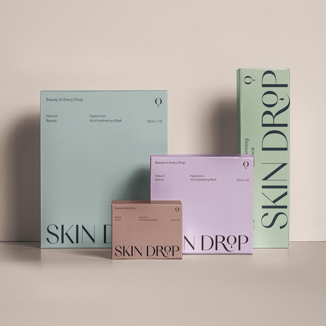 Skindrop Branding and Packaging - Daily Inspiration