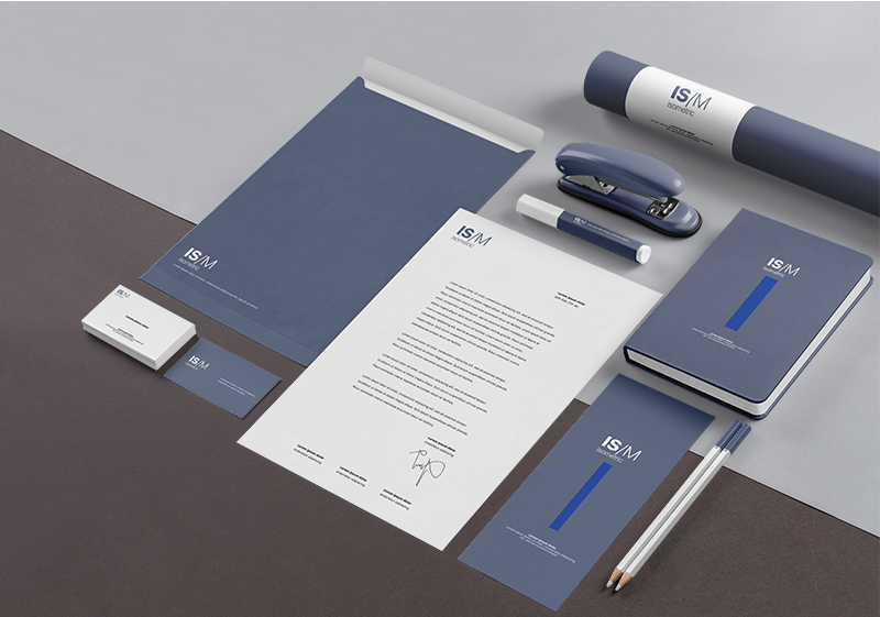 Free Download Clean Business Stationary Branding Mockup PSD