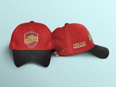 Free Download Embroidery Cap Design Mockup PSD