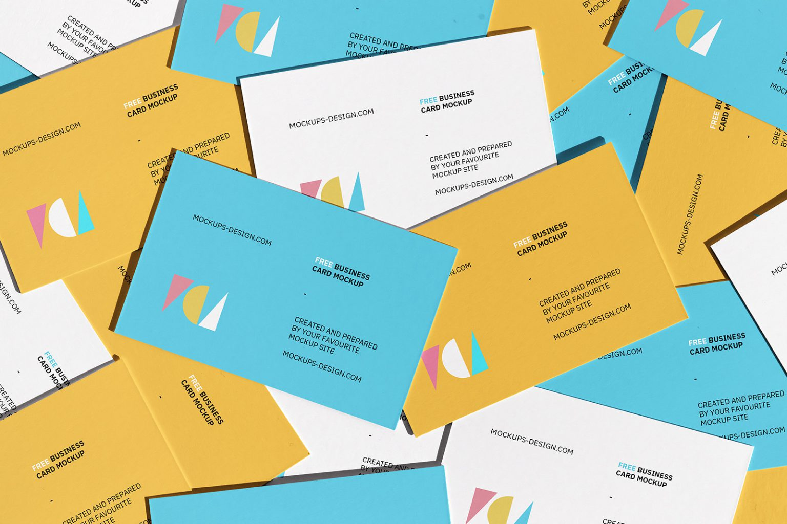 Free Download Stacked Business Card Design Mockup PSD, Great quality and easy to use this mockup for your awesome design project. High resolution Photoshop. 100% free!
