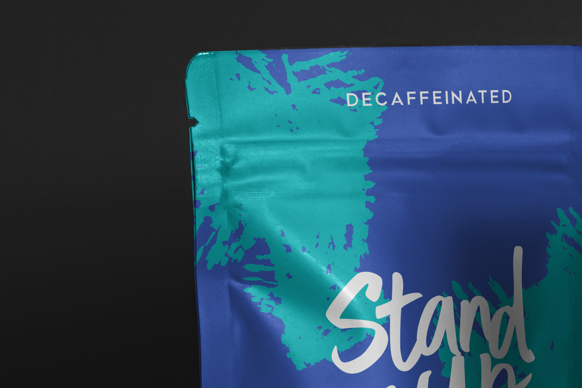 Free Download Stand Up Pouch Packaging Mockup PSD